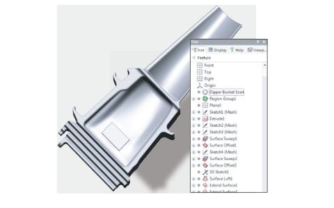 DesignXで作成したデータを他CADへ履歴ごとインポート